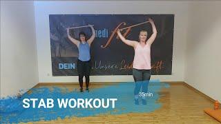 Stab Workout - Training mit Besenstiel - 35min - medifit Wolfhagen