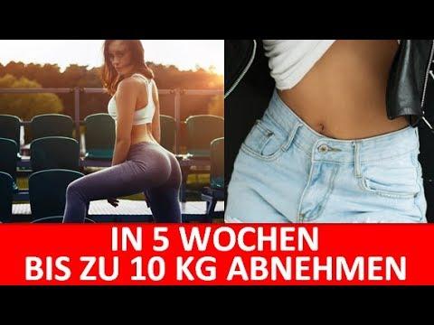 10 Kg in 5 Wochen schnell abnehmen - Einfach und ohne Sport abnehmen