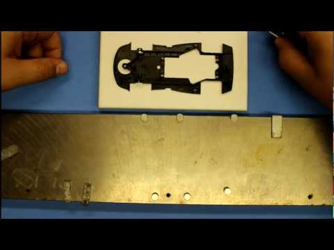 ASCC - Slot.it slot car setup : Part #1 - Straightening a chassis