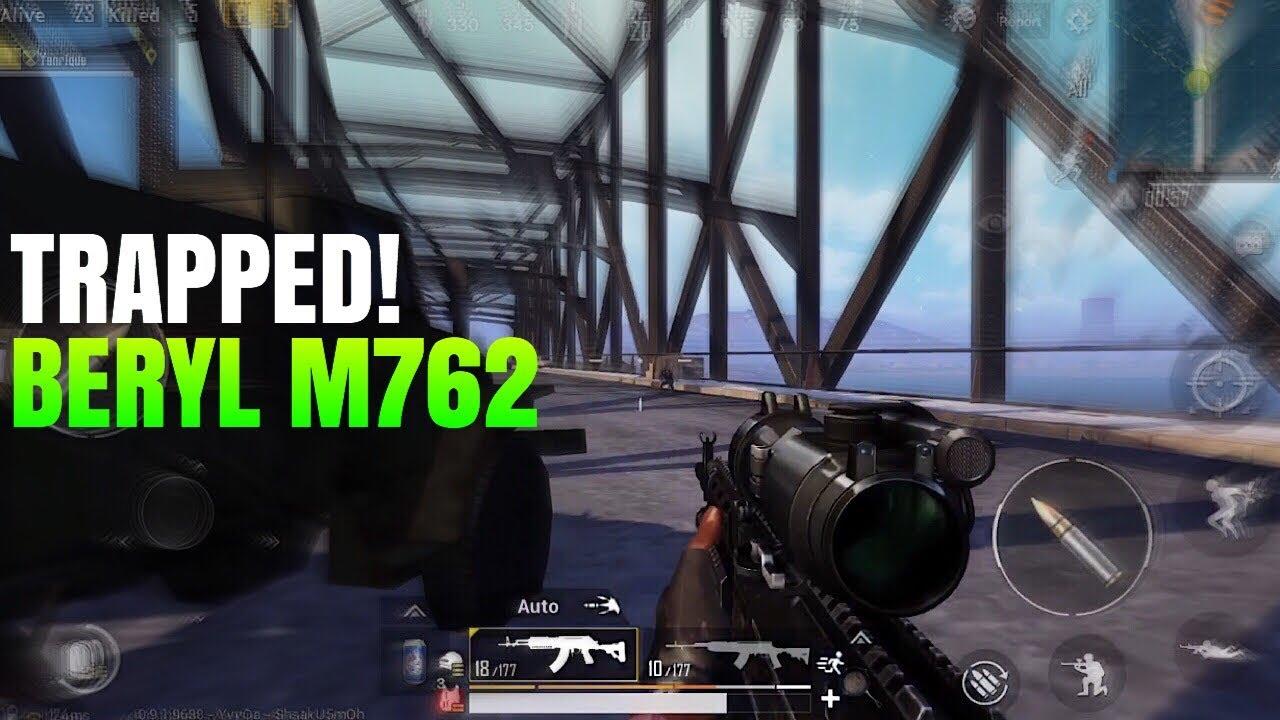 M762 Pubg: Trapped On The Bridge With Beryl M762