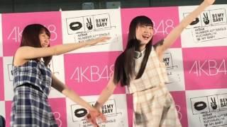 NGT48 荻野由佳、西潟茉莉奈フォトセッション.