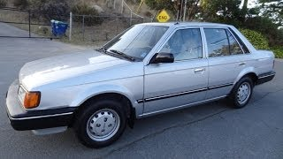 87 Mazda 323 DX Sedan Great MPG Cheap Car For Sale Clearance $850