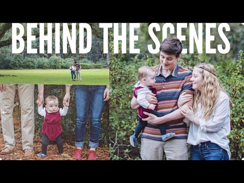 Our First Family Christmas Photoshoot | Teen Mom Vlogs