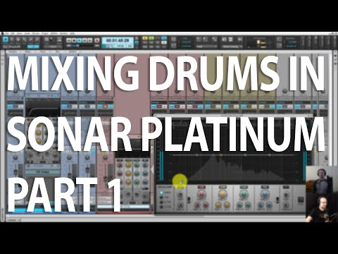 CakeTV LIVE Ep 4 - Mixing Drums in SONAR Part 1