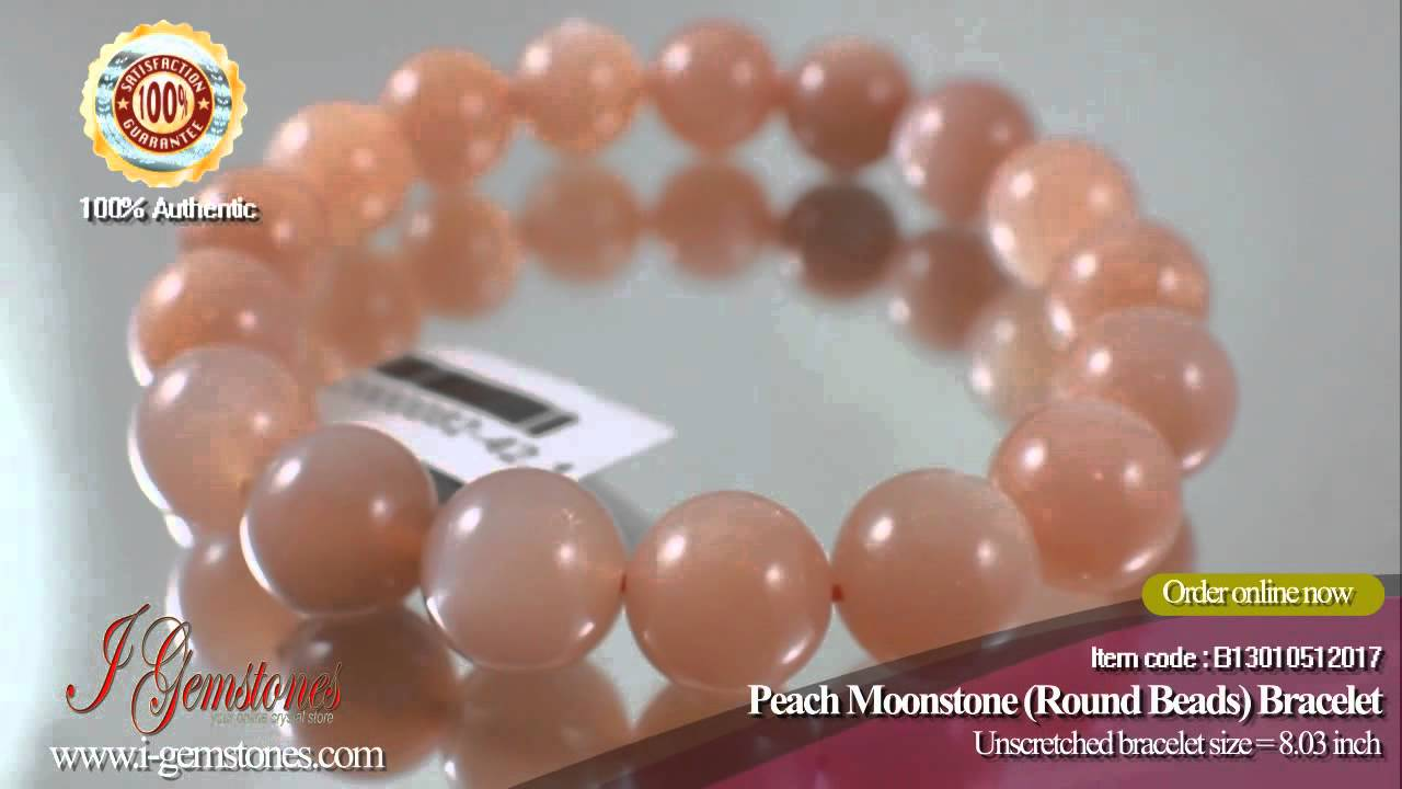 Do You Want To Nourish And Rejuvenate Your Skin Peach Moonstone Bracelet Is The Answer