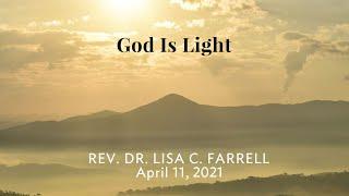 God Is Light   April 11