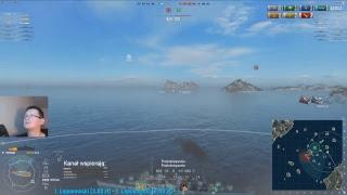 World of Warships stream - Atak na rangę 2.