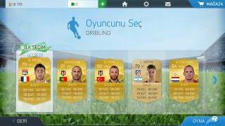 FIFA 16 Ultimate Team Android - Takas ve Beceri Modu Türkçe