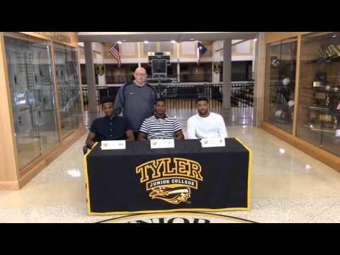 2016 TJC Men's Basketball Signing