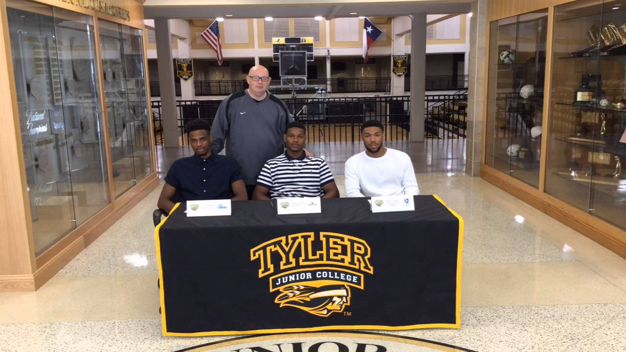 2016 TJC Mens Basketball Signing