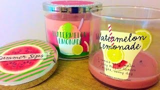 B&bw Candle Review: Watermelon Lemonade