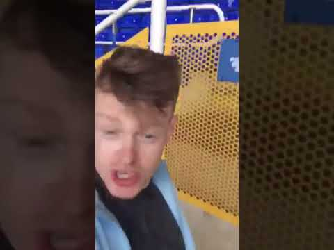 Birmingham city fan wakes up in empty stadium after falling asleep in toilets