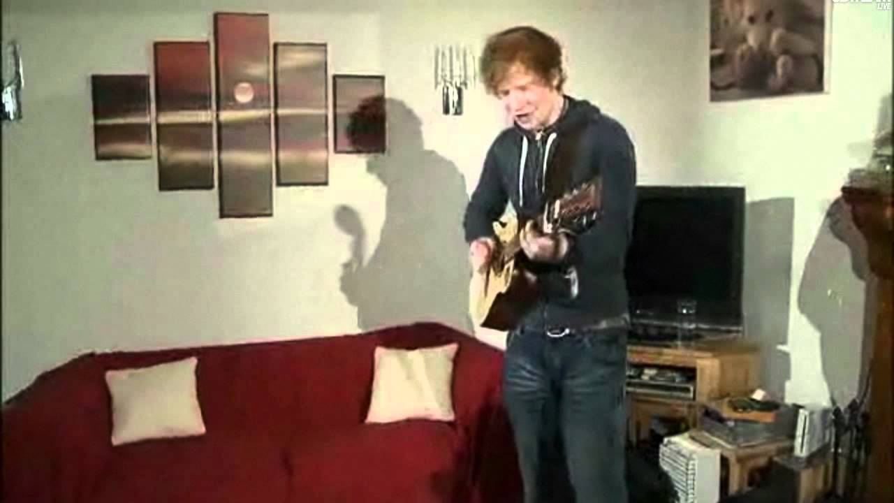 Ed Sheeran   You Need Me, I Donu0027t Need You Live On UStream Part 49