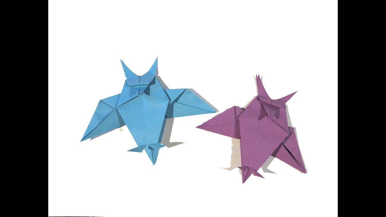 halloween origami owl first version easy origami