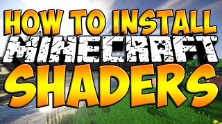 Minecraft Tutorial: How to Install Shaders Mod (Minecraft Shaders Mod 1.9)