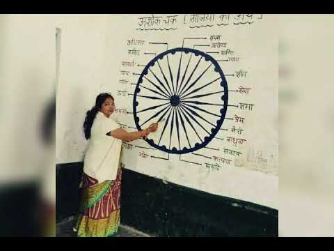 24 strip meaning in Ashoka chakra