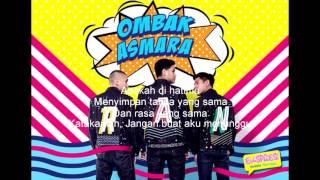 Lirik Lagu Ombak Asmara - RAN ( HD Quality )