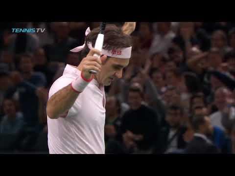 Hot Shot: Roger Federer's Miraculous Reflex vs. Djokovic Paris 2018