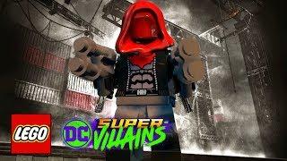 LEGO DC Super-Villains - How To Make Red Hood (Batman: Arkham Knight)