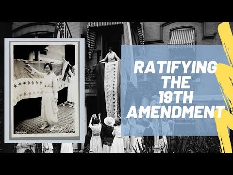 19th Amendment: Women Win the Right to Vote