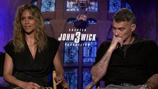 John Wick 3 Generic Interview With Halle & Berry Chad Stahelski