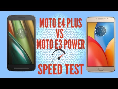 Moto E4 Plus Vs Moto E3 power Speed test |Hindi|