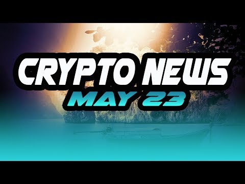 Crypto News May 23 - $ZIL $OMG $TRX $OPEN $SKY $EOS OKEx crypto jobs kidnapping Taylor crypto hacked