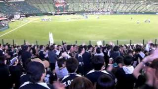 2010年4月29日 第9回戦 千葉ロッテマリーンズ対埼玉西武ライオンズ 西武...