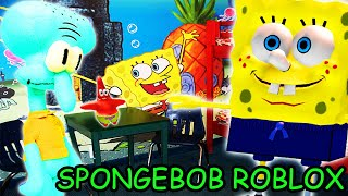 SPONGEBOB SQUAREPANTS WEIRD ROBLOX GAMES EDITION