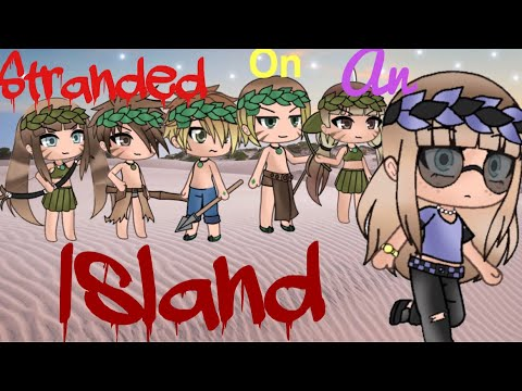 Stranded On An Island Gacha Life Mini Movie ||GLMM||