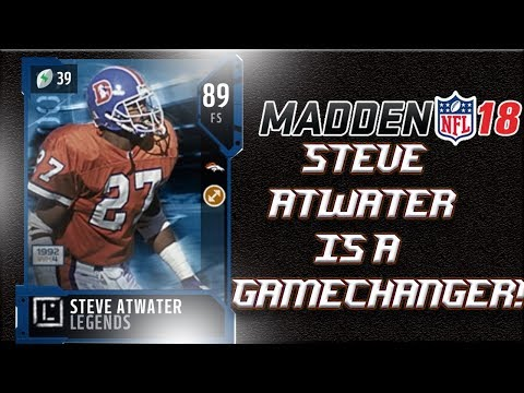 MADDEN 18 ULTIMATE TEAM | STEVE ATWATER SAVES THE GAME!! HUGE PLAY IN THE FINAL SECONDS!