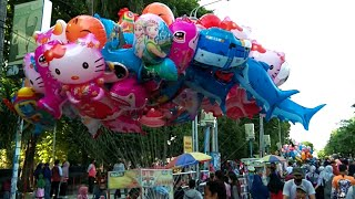 Banyak Sekali Bapak Penjual 🎈 Balon Terbang, 🎈 Balon Karakter, 🎈 Balon Helium CFD - Song Hai Tayo