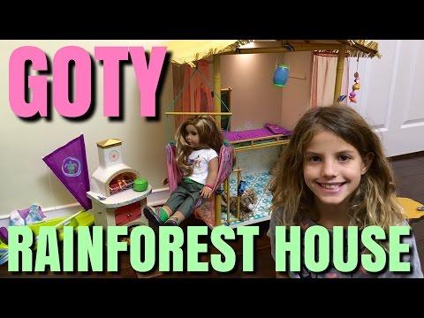 2016 Girl Of The Year Lea Clark's Rainforest House - American Girl Doll