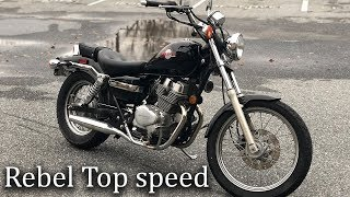 How Fast can the Honda 250 Rebel really go?