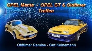 OPEL Manta, OPEL GT & Oldtimer Treffen