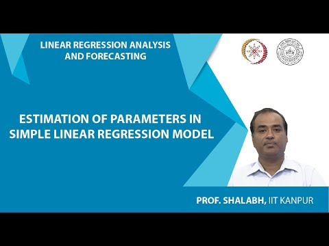 estimation-of-parameters-in-simple-linear-regression-model