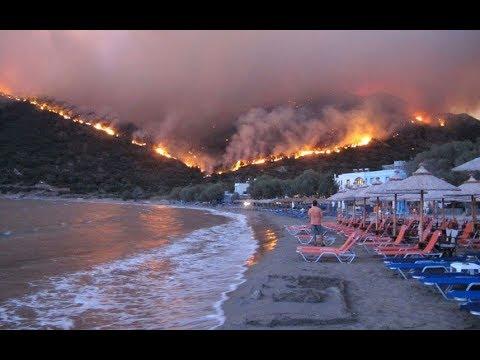 Yunanistan'da orman yangınlarında son durum. Atina'dan Emre Kaptan anlattı