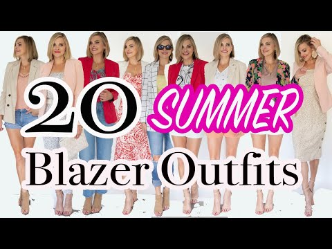 blazer-outfits-for-women-ii-easy-blazer-outfit-ideas-ii-how-to-style-ii-summer-blazer-outfits