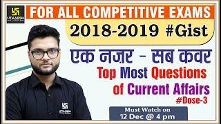 Current GK   Top Most Questions Of Current Affairs #3  For RPSC 1st Grade Teacher   By Kumar Gaurav