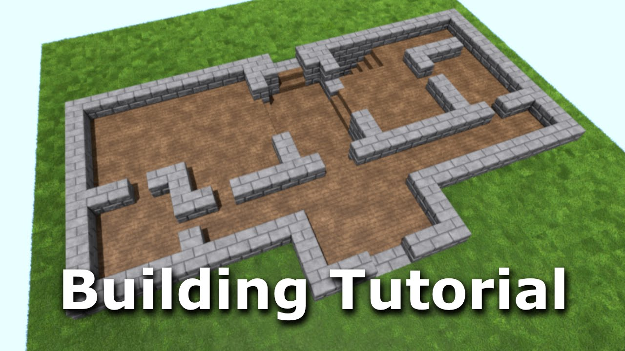 Spacious Dwelling Part 1 Minecraft Building Tutorial Youtube