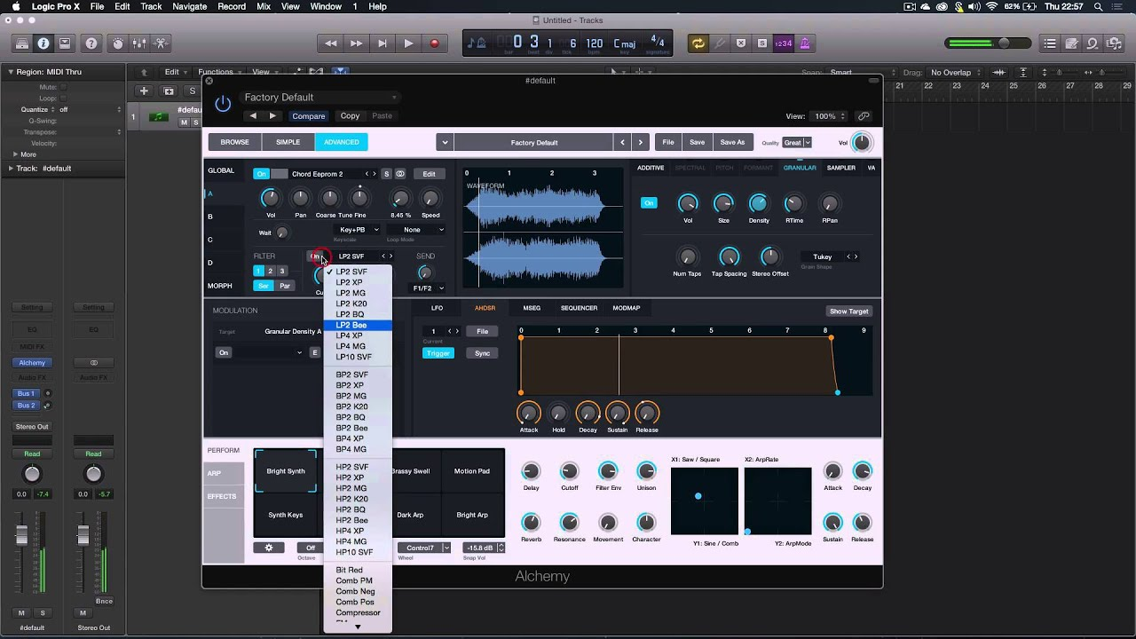 Logic pro x how to create unique sound design with for Music studio design software