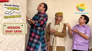 Girl Stops Residents From Entering Terrace | Taarak Mehta Ka Ooltah Chashmah | Mission Saaf Safai