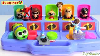The Incredibles 2 Pop Up Surprises Best Learn Numbers and Colors
