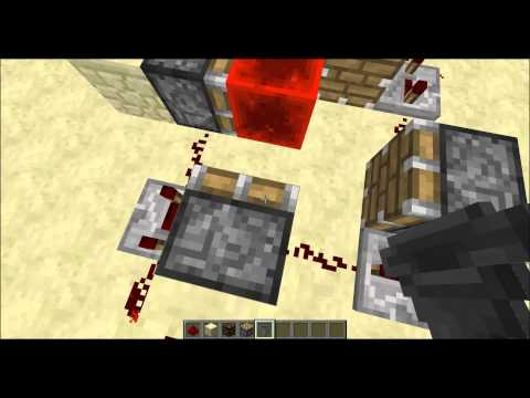 How To Make A Automatic Turret In Minecraft