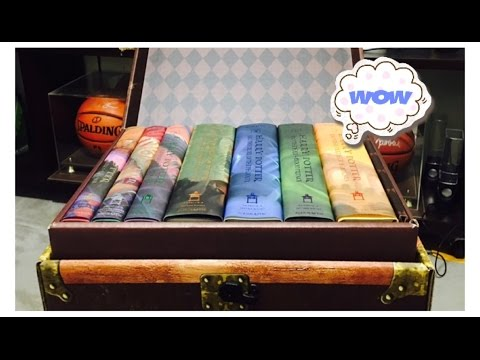 harry-potter-hardcover-box-set-1-7!!!-unboxing!!
