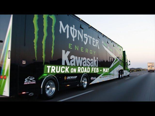 Kawasaki Science of Supercross: Race Team Rig