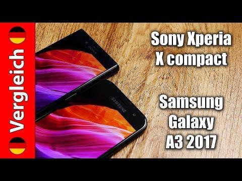 Sony Xperia X compact oder Samsung Galaxy A3 2017 | Zwei kleine Giganten