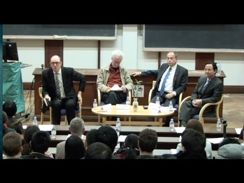 Panel Discussion - Prof Peter Nolan, Dr Gerard Lyons,Mr Stephen Perry, Mr Zhang Jiming-20112015