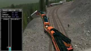 Microsoft Train Simulator Train Wrecks Part Two