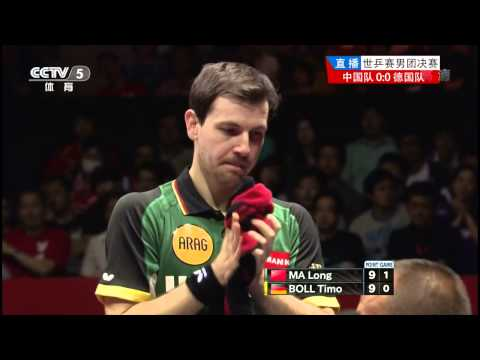 2014 WTTTC (MT-Final/CHN-GER/m1) MA Long - BOLL Timo [HD50fps] [Full Match/Chinese]